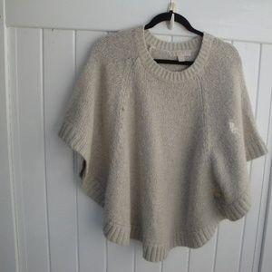 Michael Kors Bulky Boho Sweater/Poncho